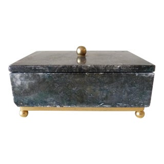 Green Marble Decorative Box