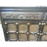 Image of Elephant Carved Gold Plate Buffet