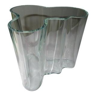 """""""Green Hue"""" Acid Etch Vase"""