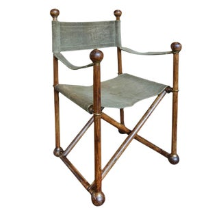French Campaign Style Folding Chair