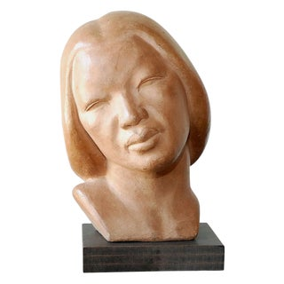 Female Terracotta Bust