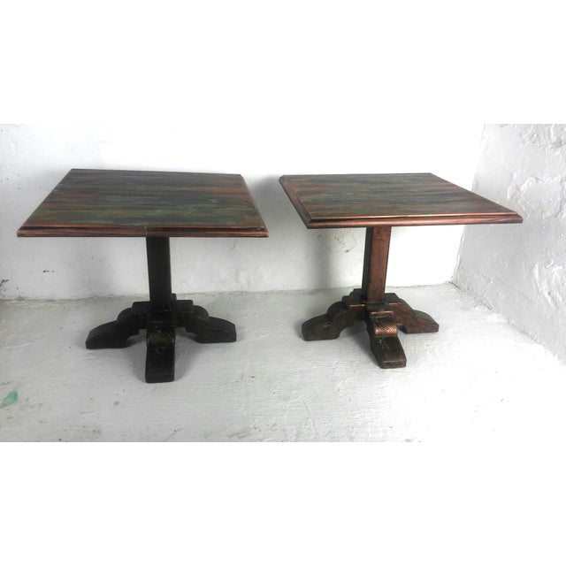 Mid-Century Side Tables - A Pair - Image 9 of 9