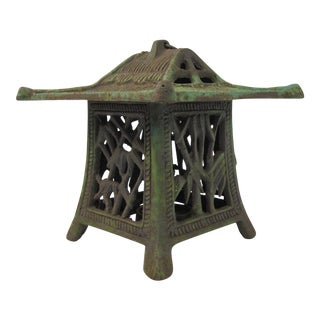 Antique Japanese Pagoda Lantern