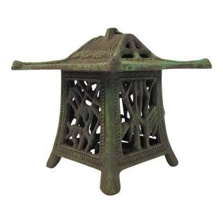 Antique Japanese Pagoda Lantern