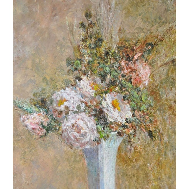 Troy Ruddick Vintage Floral Still Life Painting, C.1965 - Image 6 of 7