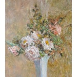 Image of Troy Ruddick Vintage Floral Still Life Painting, C.1965