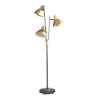 "Gerald Thurston for Lightolier ""Triennale"" Style Floor Lamp"