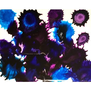 Violet Shores Painting