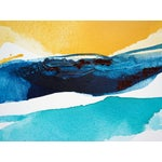 Image of Goldenrod Diptych Abstract Painting