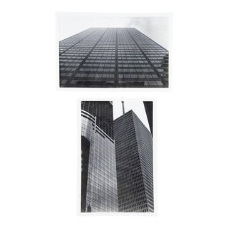 1980s Skyscrapers Photographs - a Pair