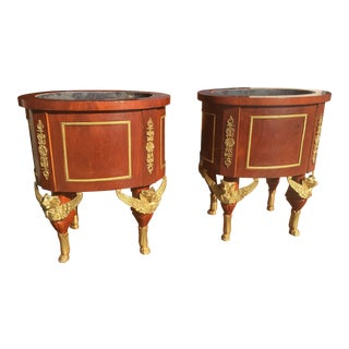 French Empire Ormolu Planters - A Pair