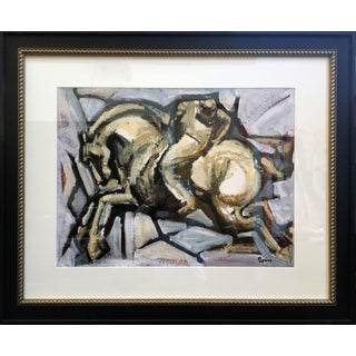 Polo Player VI Framed Painting