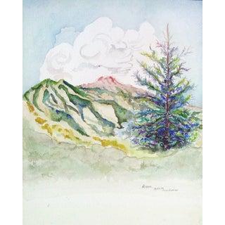 Aspen Colorado Watercolor Painting