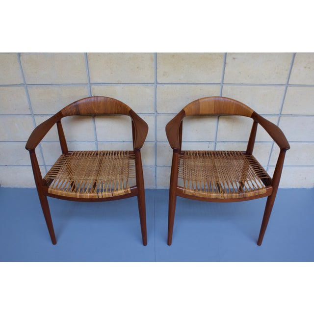 Hans Wegner Johannes Hansen 'The Chair' - A Pair - Image 2 of 10