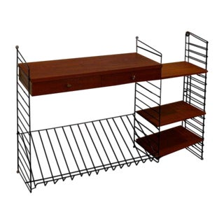 Mid-Century Modern String Shelving Unit by Nils