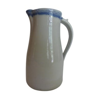 Vintage Hand-Made Pottery Pitcher