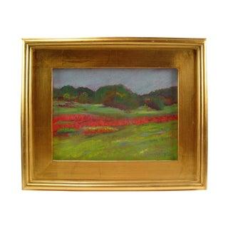 Plein Air Pastel Landscape Painting