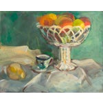 Image of Oil Still Life With Porcelain Teacup
