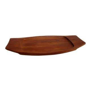 Dansk Teak Surfboard Modernist Tray