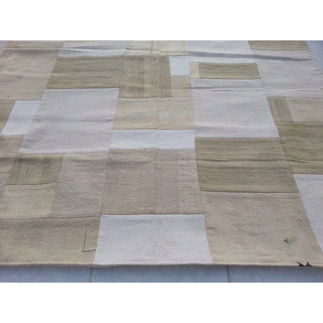 """Bohemian Patchwork Rug -- 5'6"""" x 7'6"""" - Image 3 of 6"""