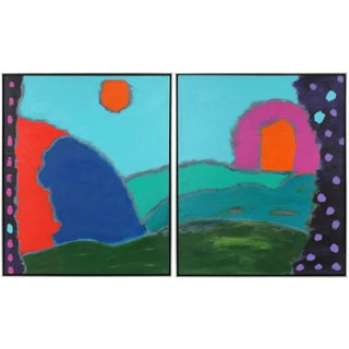 """Magical Kingdom"" Diptych"
