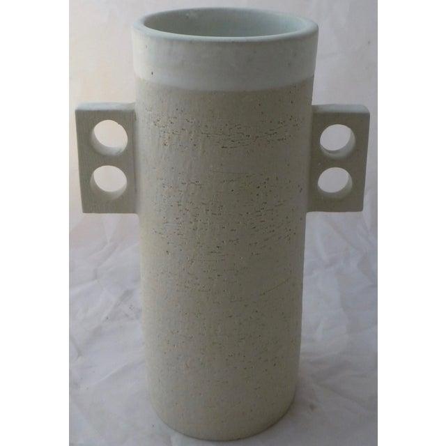 Large Jonathan Adler Architectural Vase - Image 2 of 9