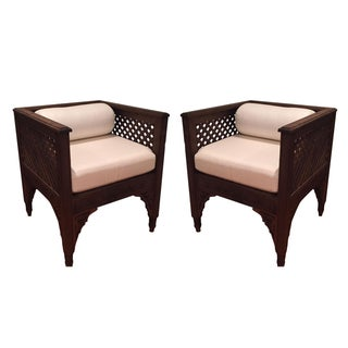 Moroccan Chairs - A Pair