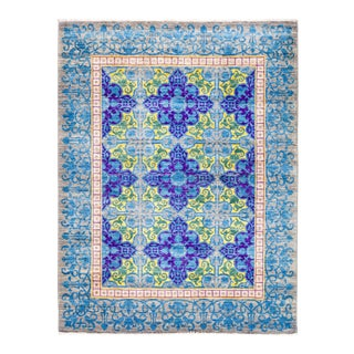 """Suzani Hand Knotted Area Rug - 5' 4"""" X 6' 10"""""""
