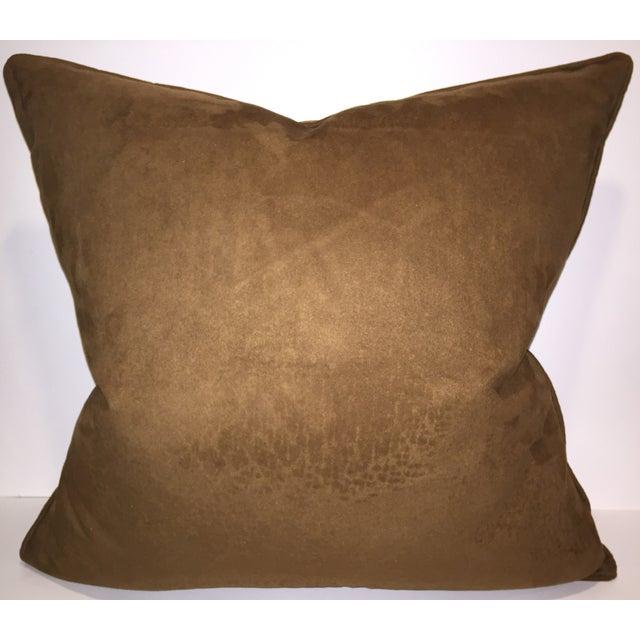 Schumacher Corsini Velvet Paisley Pillow - Image 2 of 2