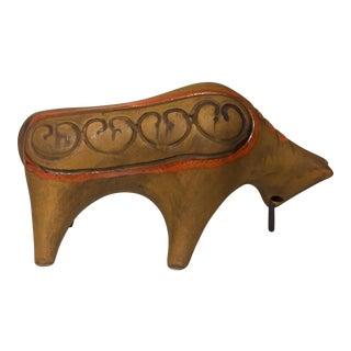 Italian Terracotta Charging Bull