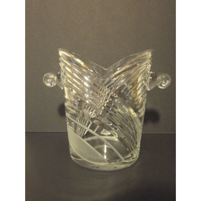 Vintage Crystal Champagne Ice Bucket - Image 5 of 7