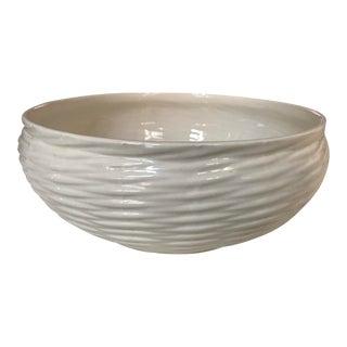 Tiffany Porcelain Weave Serving Bowl