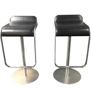 Design Within Reach Lapalma Stools Brown - A Pair