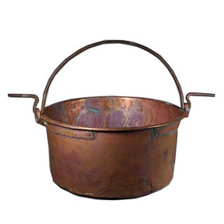 Handmade Copper Cauldron