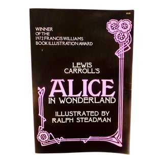 """Alice in Wonderland"" Illustrated by Ralph Steadman"