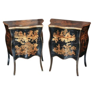 Pair of 18th c. Chinoiserie Side Tables