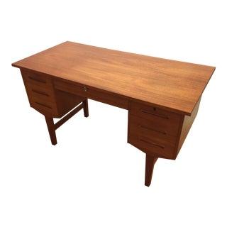 Mid-Century Teak Writing Desk