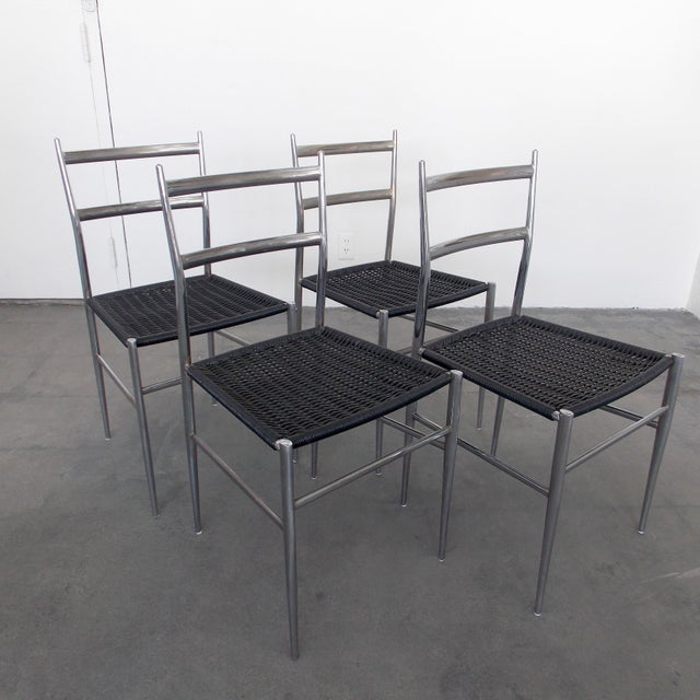 Image of Gio Ponti Style Dining Chairs - Set of 4