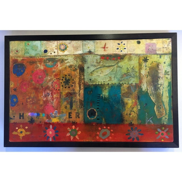 Multicolor Collage by Michael Cutlip - Image 3 of 3