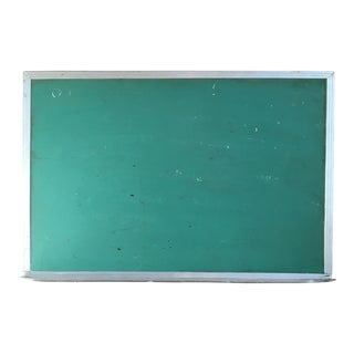Vintage Green Wall Mounted Chalkboard