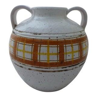 Mid-Century Modern Italian Art Pottery Vase