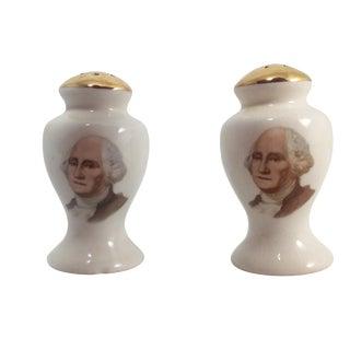George Washington Salt & Pepper Shakers