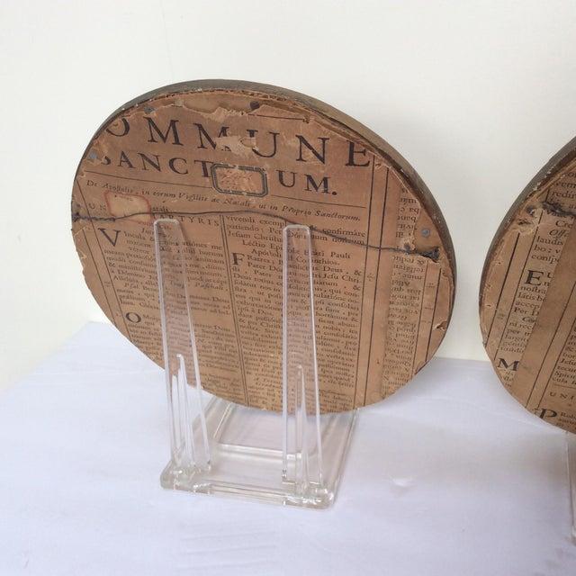Antique Wax Cherub Reliefs - A Pair - Image 7 of 9