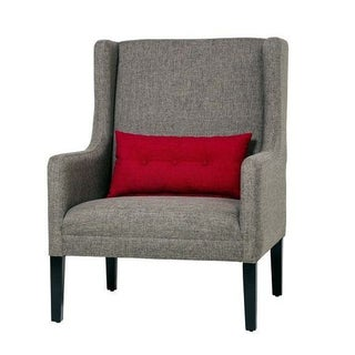 Casey Contemporary Club Chair in Grey