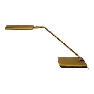 Koch & Lowy Brass Articulating Desk Lamp