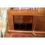 Image of Antique Federal Style Mahogany Secretary Desk