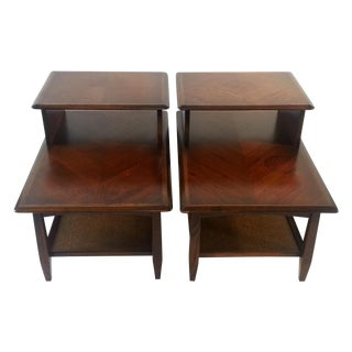Mid- Century Danish End Tables Set