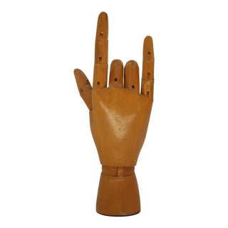 French Articulating Mannequin Hand