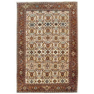 "Antique Mahal Rug - 8'6"" x 12'6"""