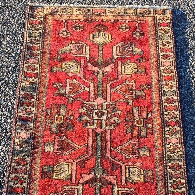 """Zanjan Persian Rug - 2'2"""" X 4'1"""" - Image 4 of 8"""